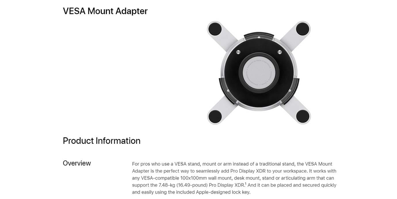 VESA Mount Adapter