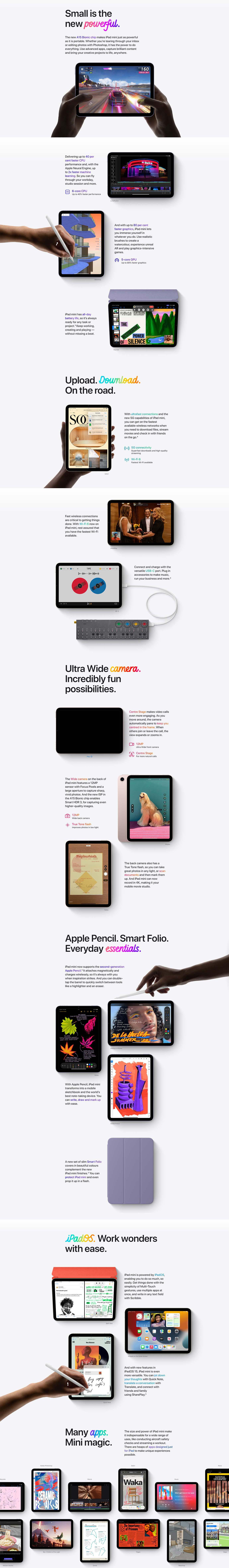 Apple iPad mini (6th Gen)
