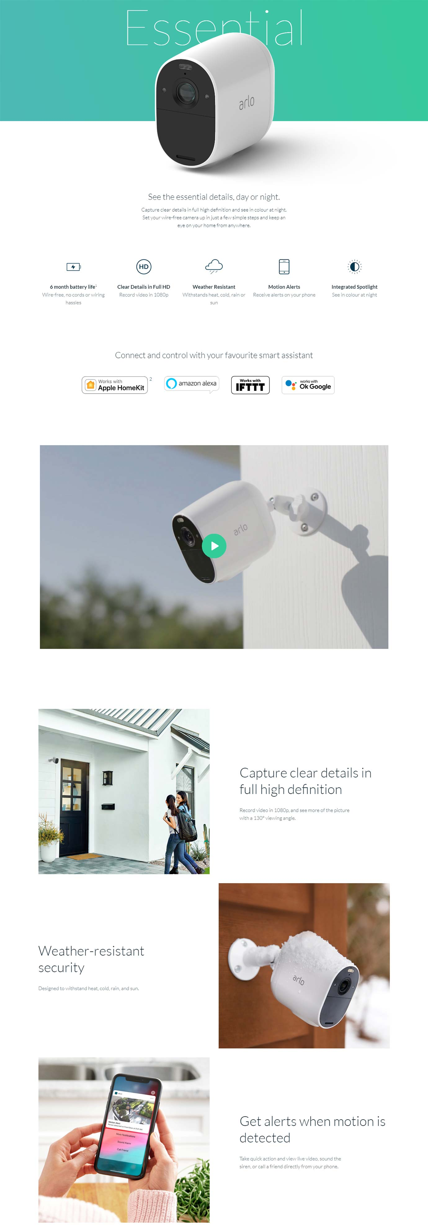 Arlo Essential XL Cameras