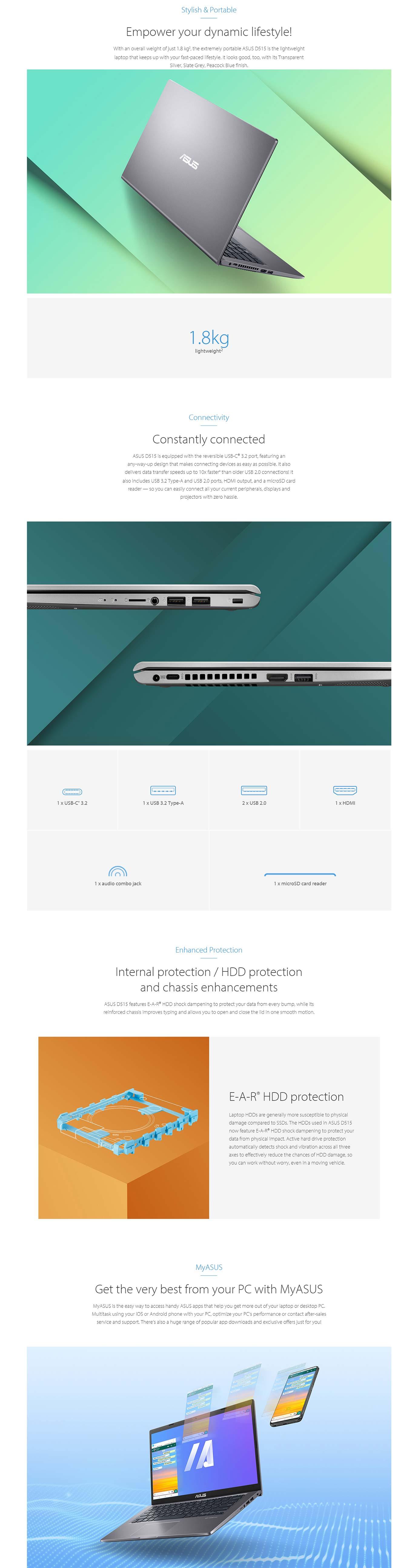 Asus D515DA Laptop
