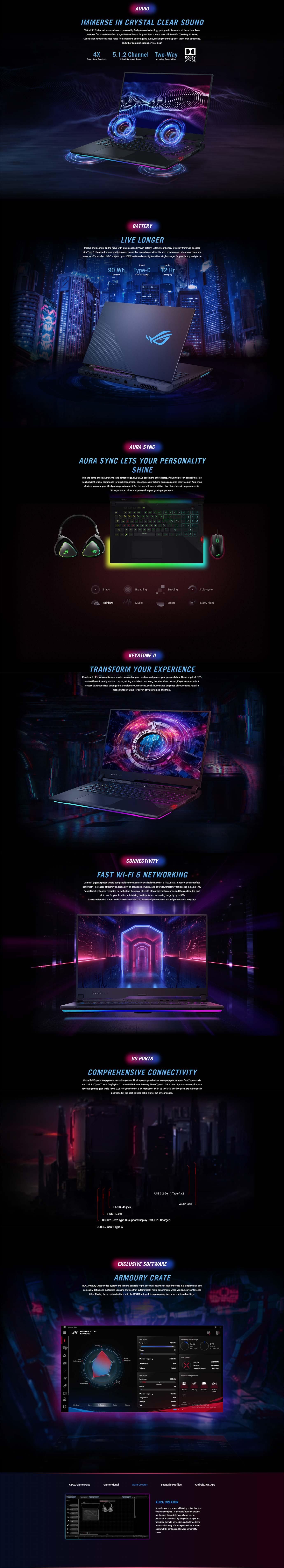 Asus ROG Strix SCAR 17 G733 Laptop