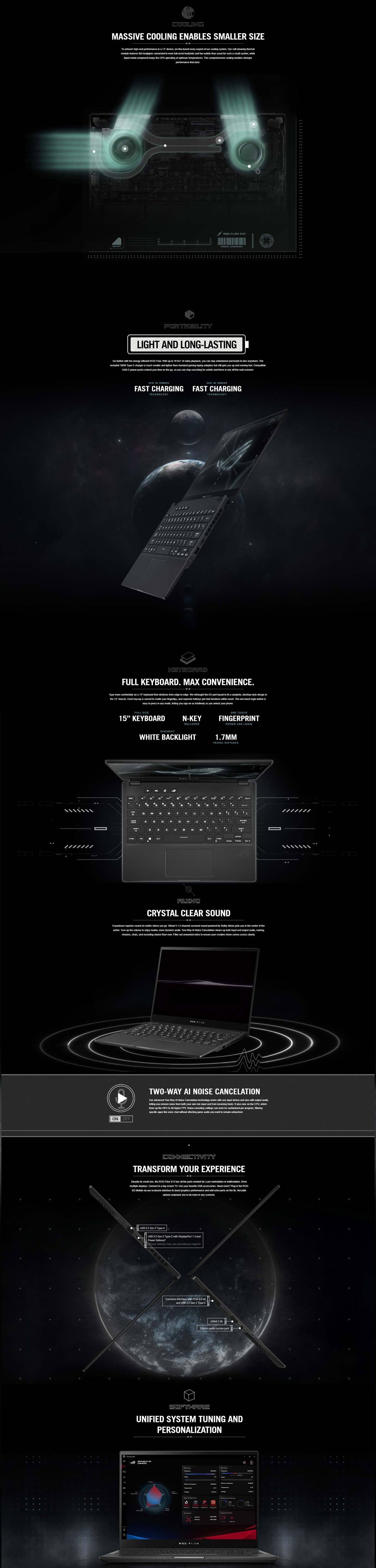 Asus ROG Flow X13 GV301 Laptop