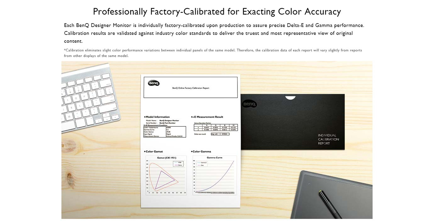 Colour Accuracy