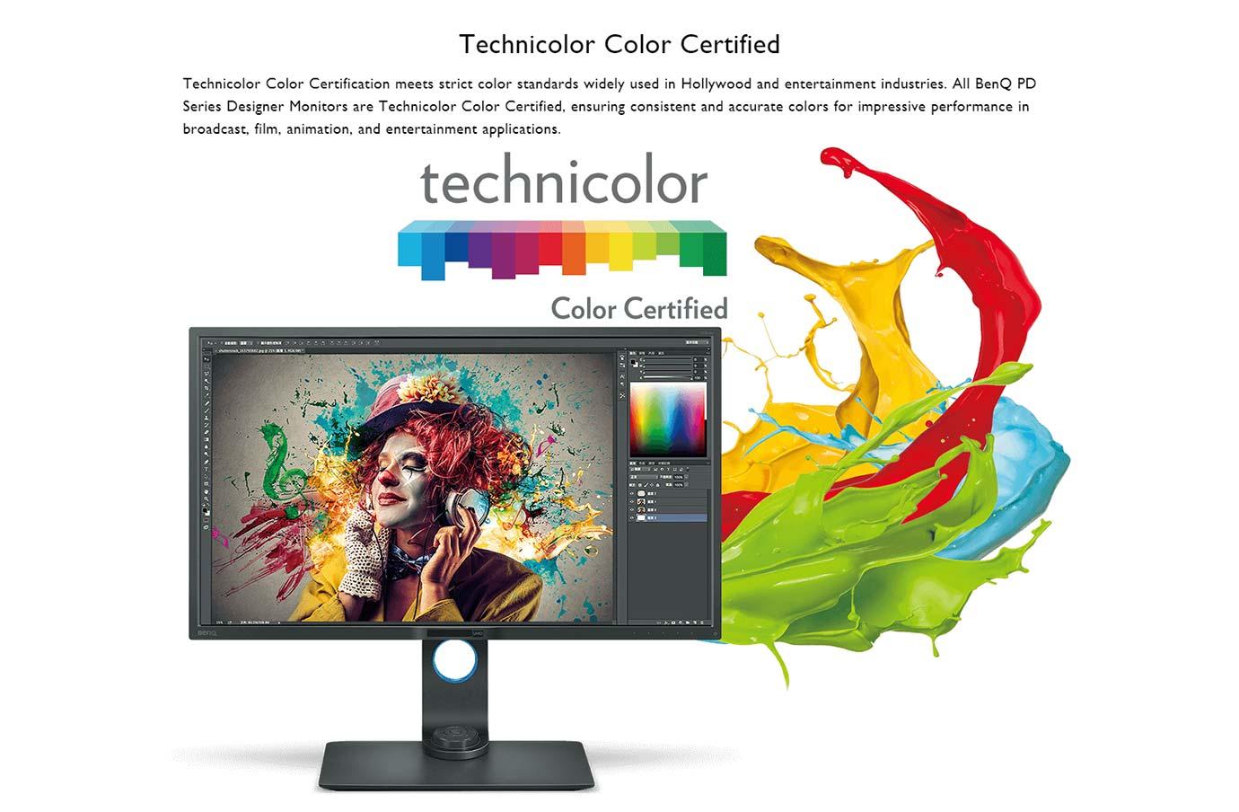 Technicolor Colour Certified