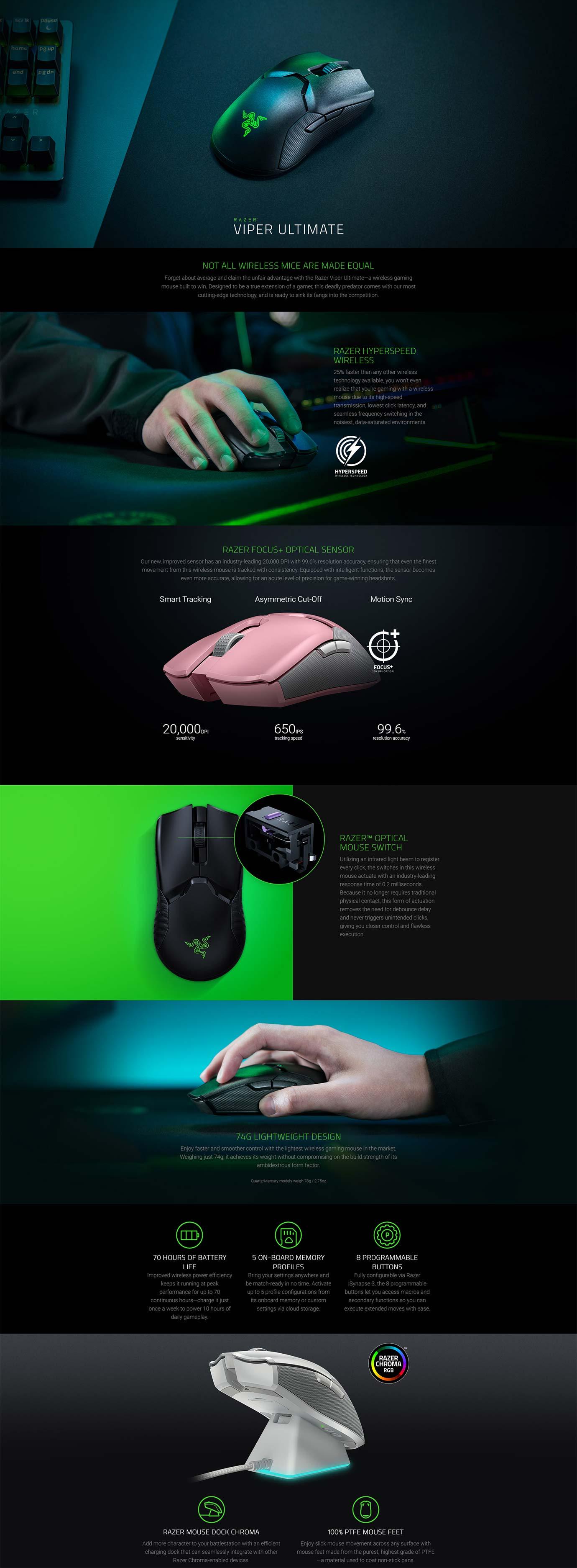 Razer Viper Ultimate Mouse
