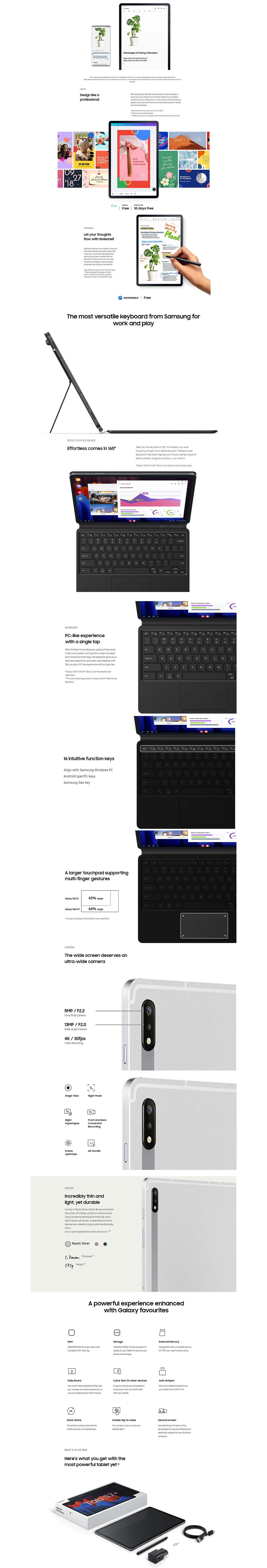 Samsung Galaxy Tab S7/S7+