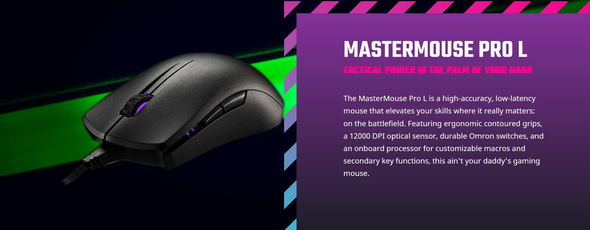MasterMouse Pro L SGM-4006-KFOA1-Overview