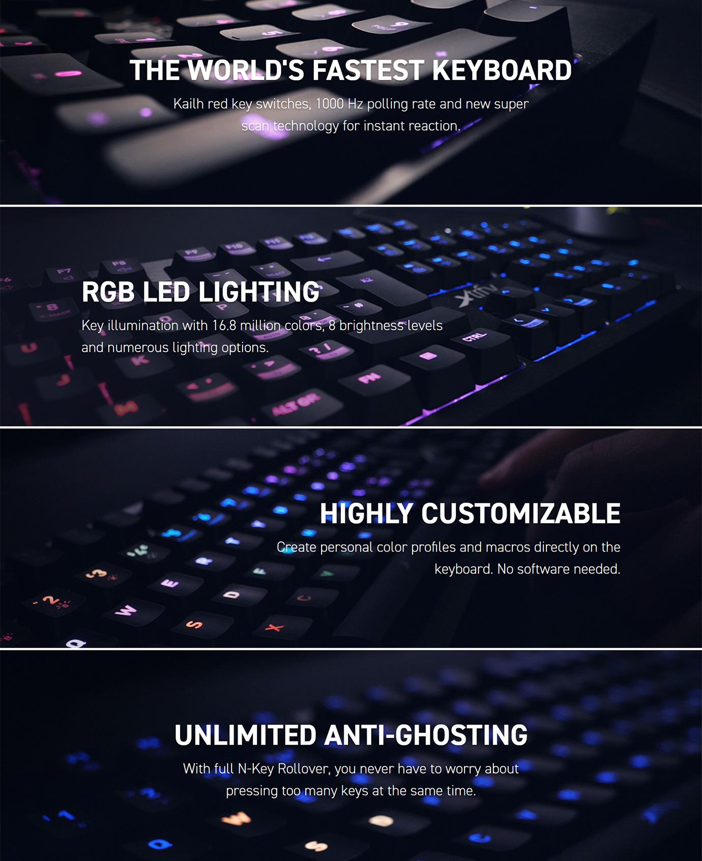 Xtrfy K2 RGB Mechanical Gaming Keyboard