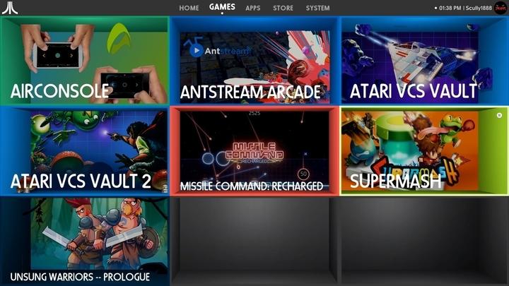 Arcade Games Software OS atari