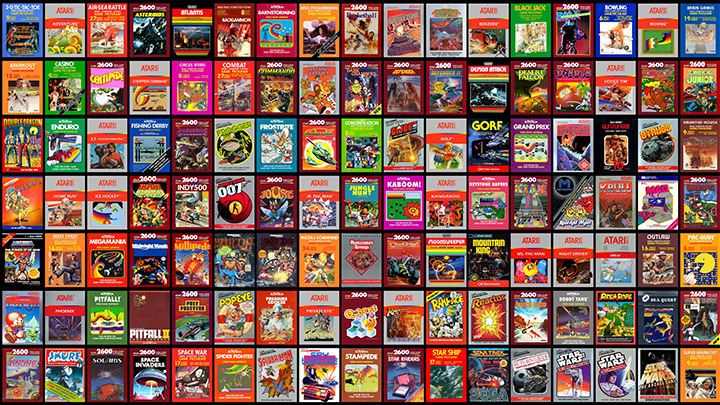artari arcade games history retro set